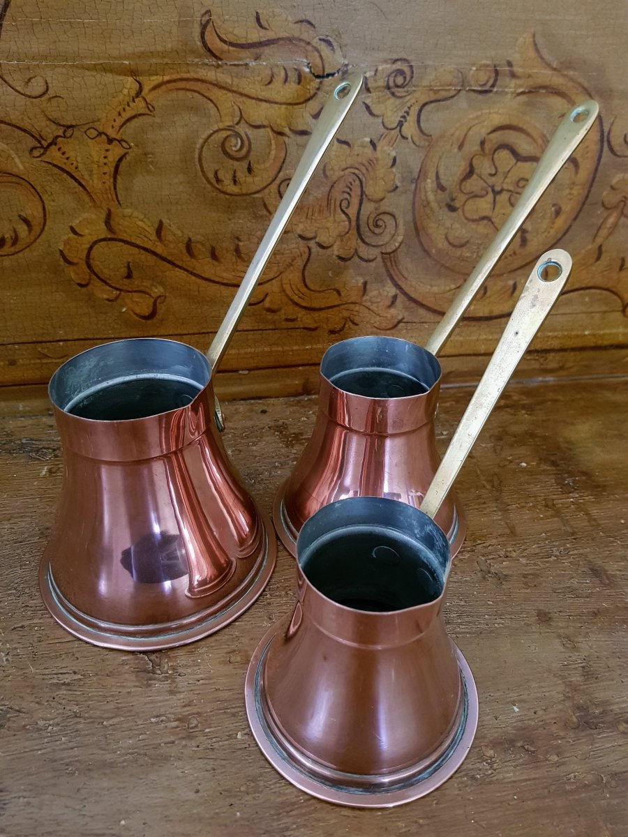 Old Copper Pouring Pans