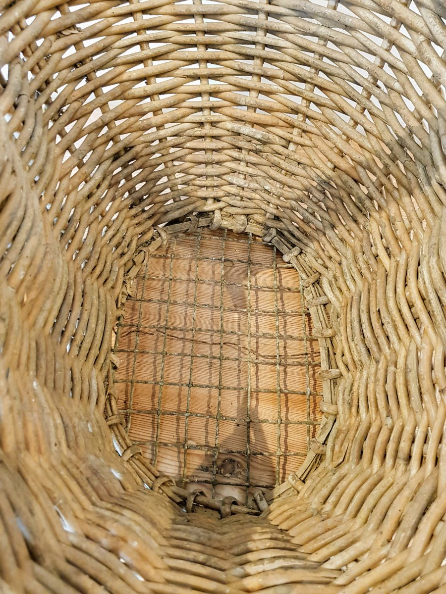 Vintage Wicker Vegetable Basket