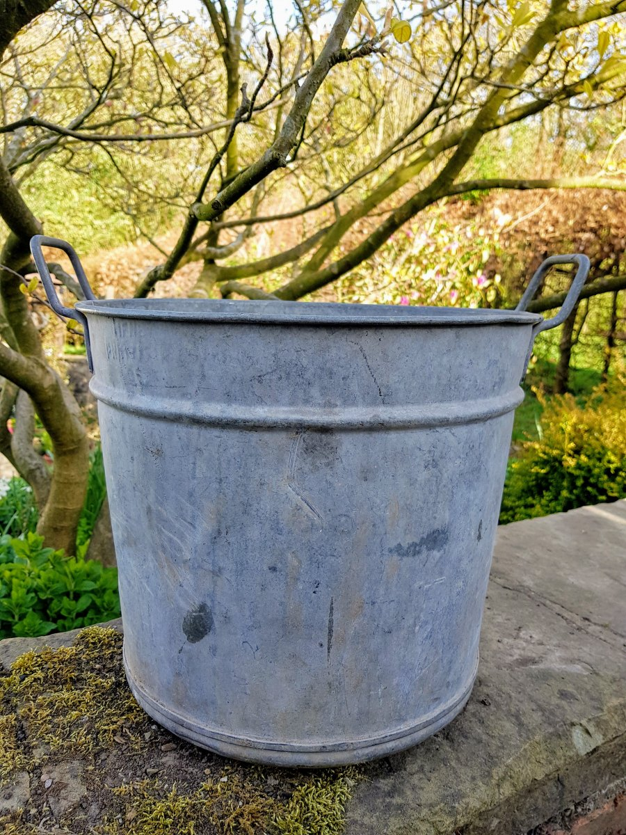Vintage Galvanised Tub