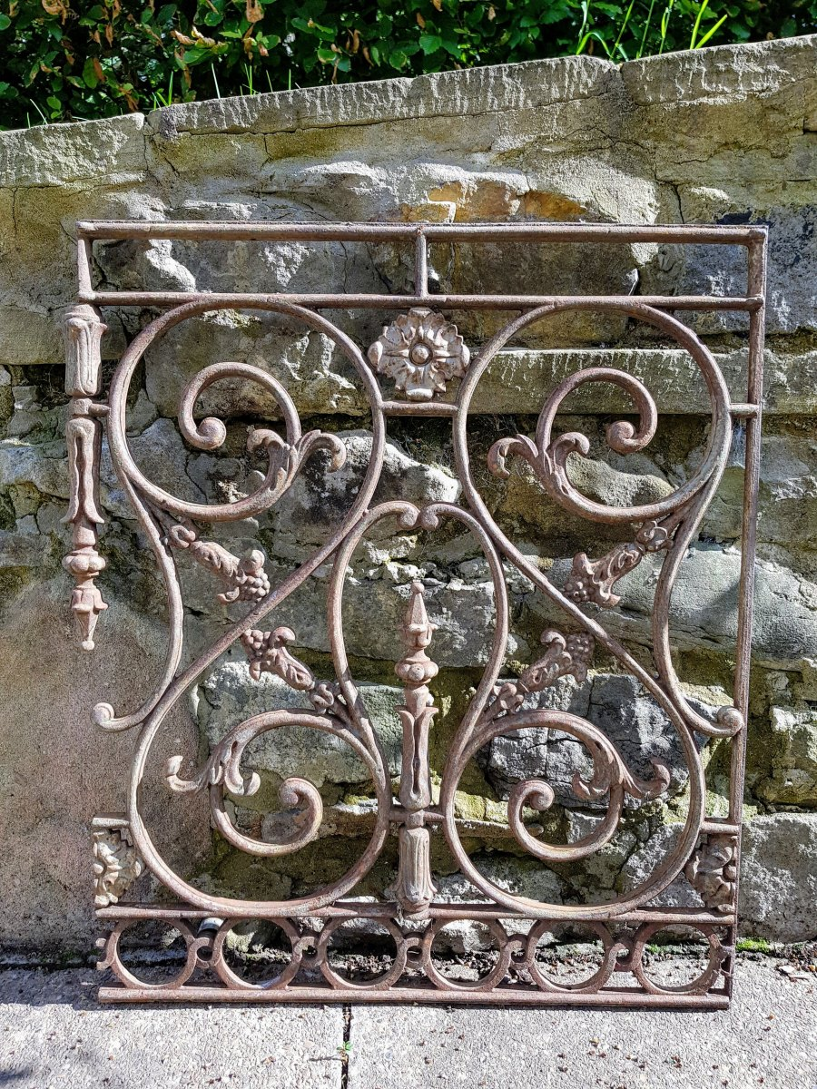 Cast Iron Decorative Panel
