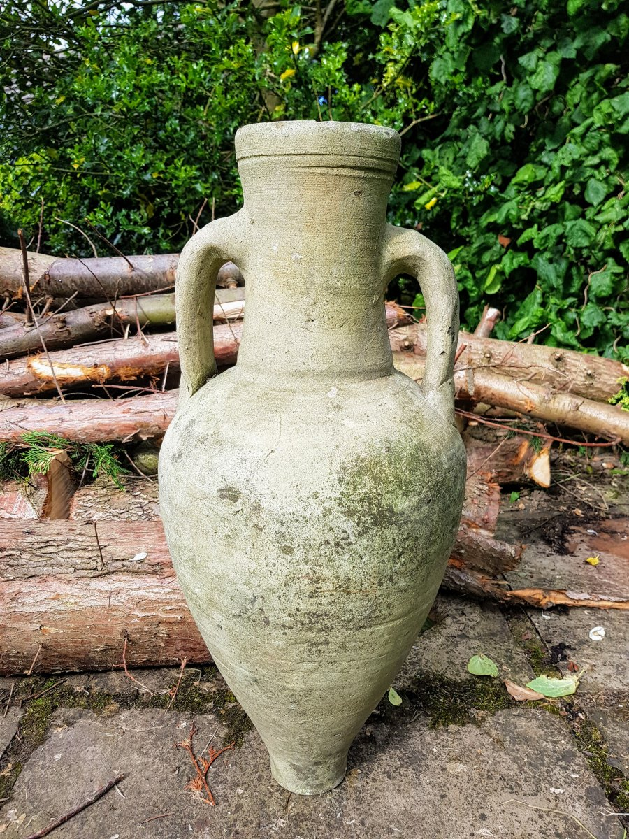 Hand Thrown Terracotta Urn
