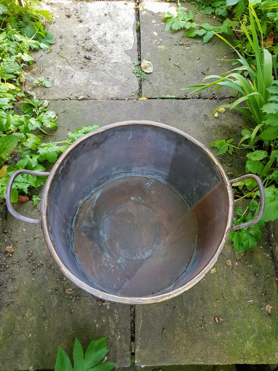 Large Vintage Copper Pot
