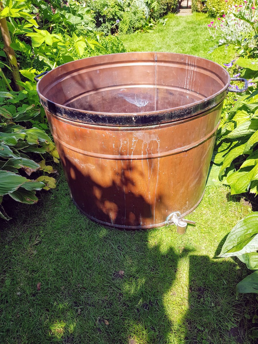 Large Copper Vat