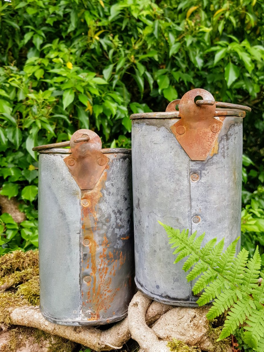 A Metal Cylinder Container