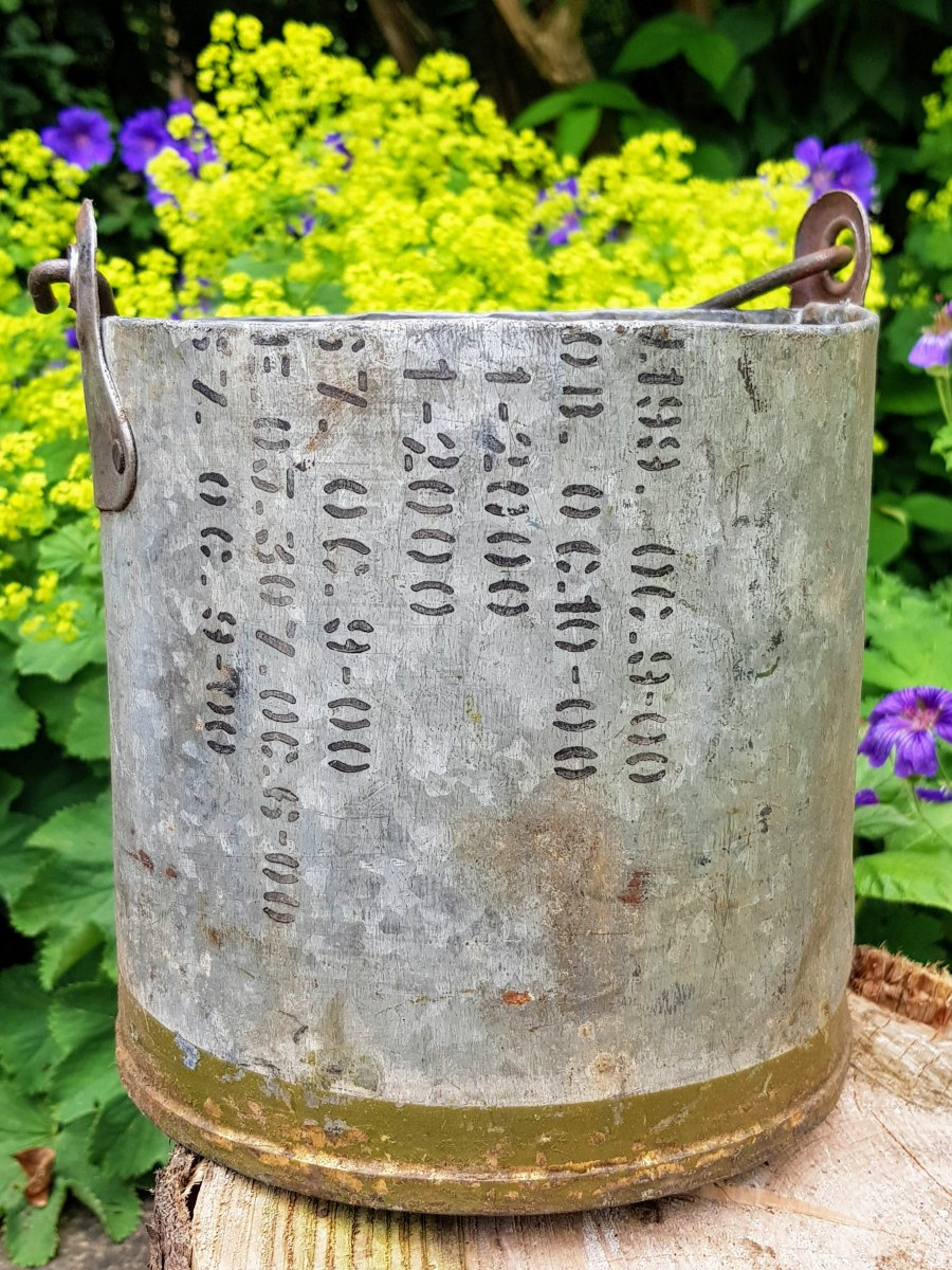Quirky Metal Planter